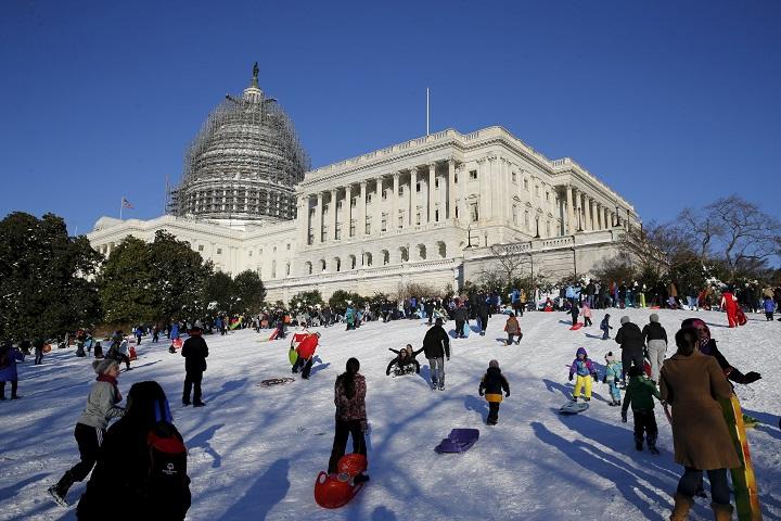 В Вашингтоне в понедельник не будут работать госучерждения Фото: REUTERS