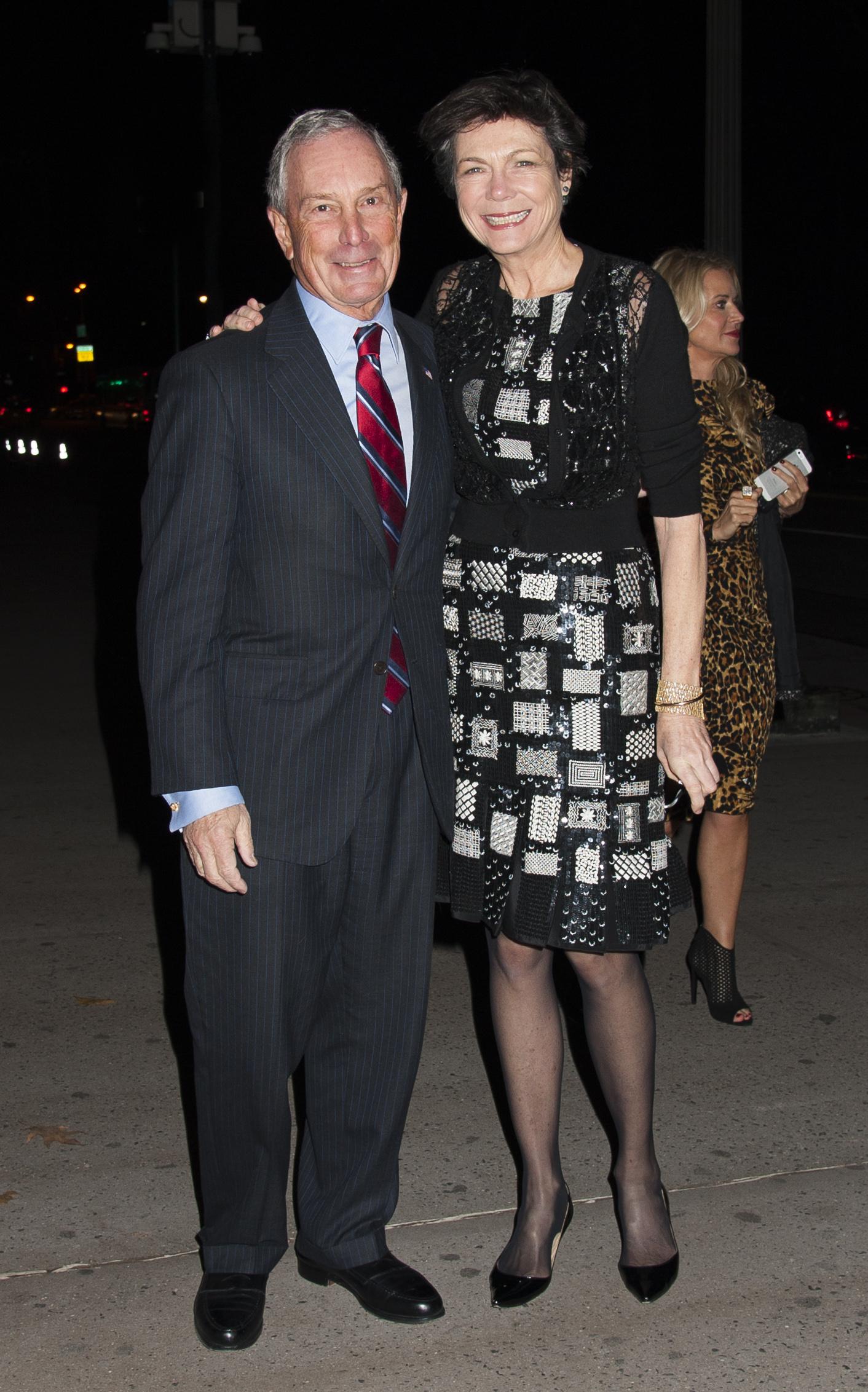 Диана Тейлор и Майкл Блумберг вместе с 2000-го года. Фото: SPLASH NEWS