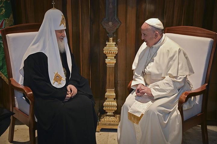 Патриарх и Папа проговорили около 2-х часов и в основном за закрытыми дверями Фото: REUTERS
