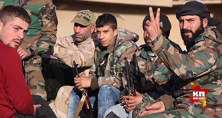 Интернационал добровольцев, сражающихся с ИГИЛ. Фото: Александр КОЦ, Дмитрий СТЕШИН