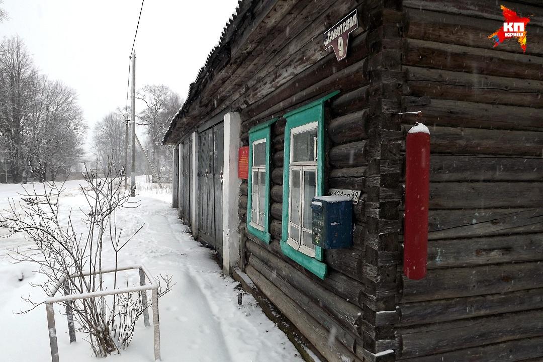 Пожарное депо с рындой на углу. Фото: Василий ХОДАРЕВ