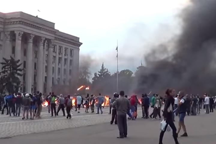 Ульрих Хайден снял документальный фильм о трагедии в доме профсоюзов в Одессе Фото: кадр из фильма