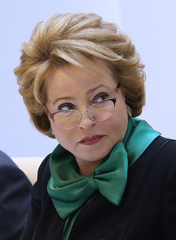 Валентина Матвиенко. Фото: Антон Новодережкин/ТАСС