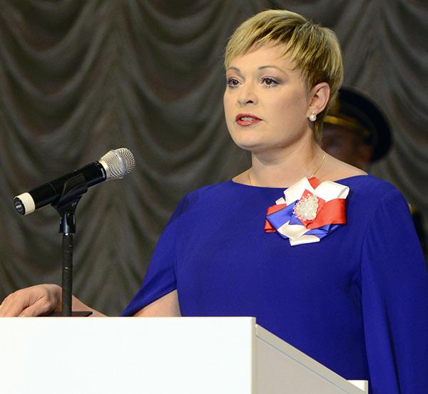 Марина Ковтун. Фото: Лев Федосеев/ТАСС