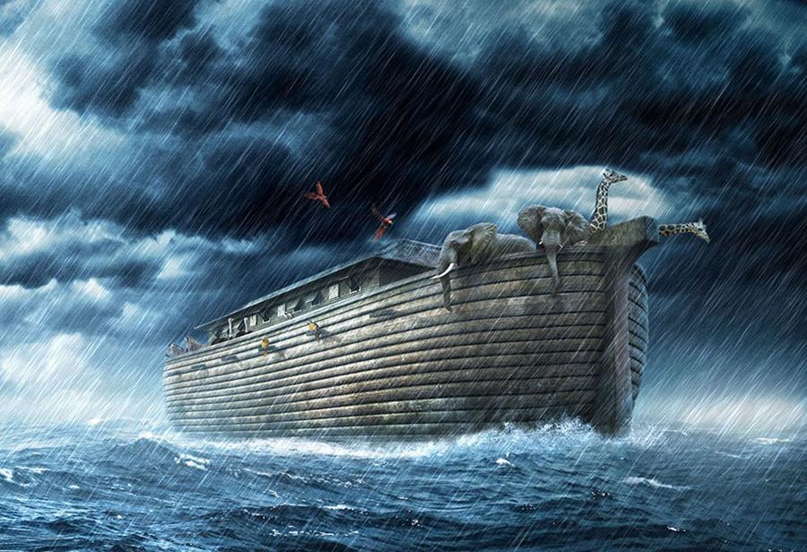 Судя по Библии, ковчег плавал до остановки над Араратом ровно 5 месяцев