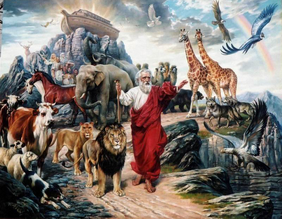 Сам Ной, сойдя с семьей и скотами из ковчега, радость отцовства уже не испытал. Хотя прожил еще 350 лет после вселенского катаклизма