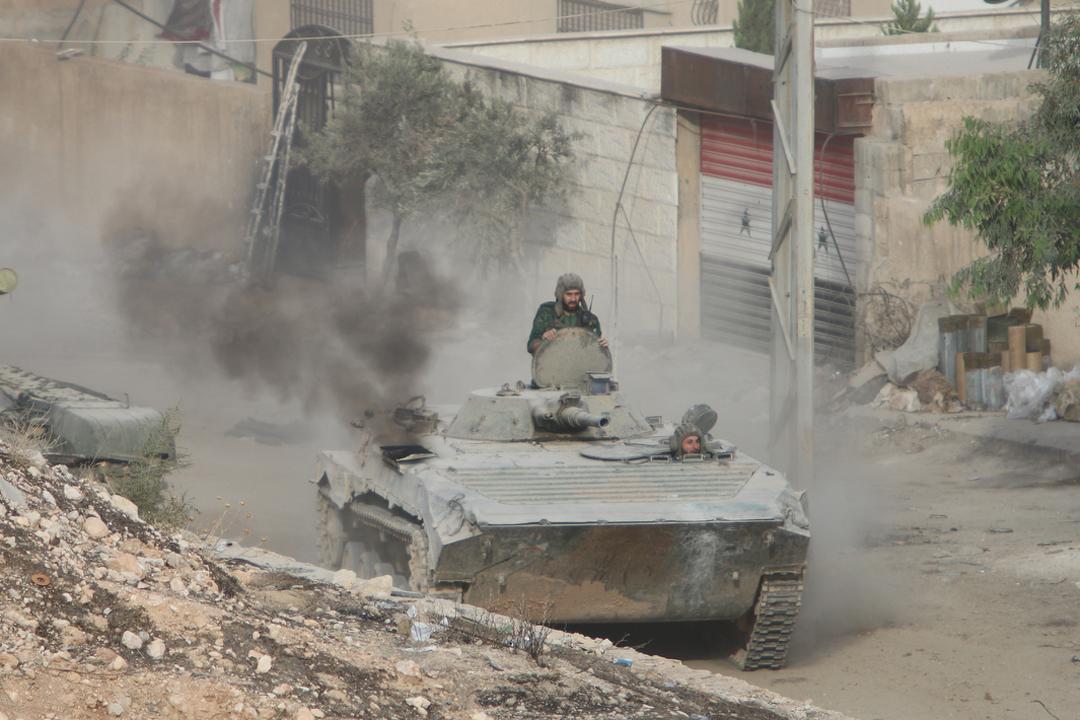 Сирийской правительственной армии удалось взять под контроль стратегически важные районы и города страны Фото: Александр КОЦ, Дмитрий СТЕШИН