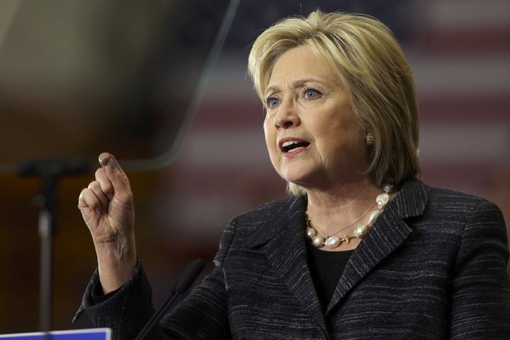 """""""Если Хиллари Клинтон станет президентом, мы получим примерно ту же самую ситуацию, которую имели до сих пор, и которая явно проваливается"""" Фото: REUTERS"""