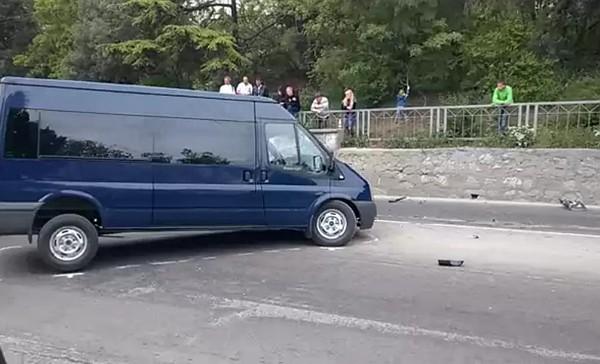 Трагическое ДТП в Ялте: при столкновении с автобусом погиб молодой мотоциклист [Фото] [Видео] фото 1