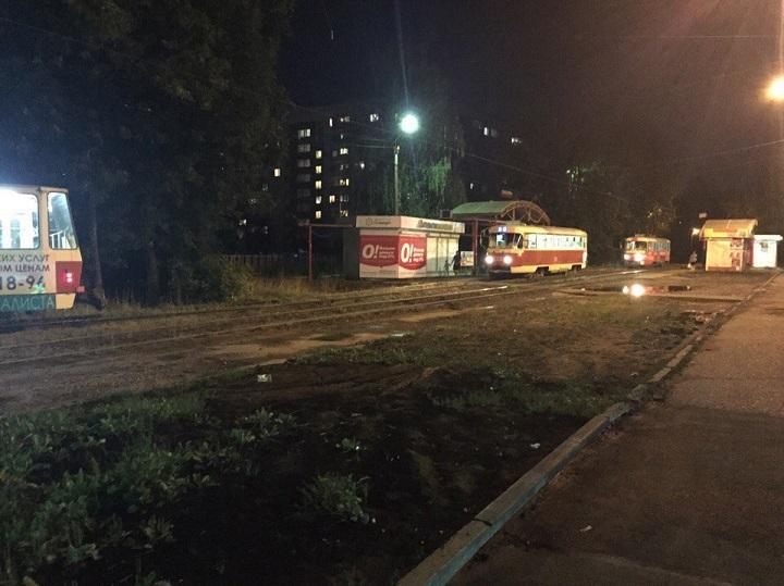 ВНиколаеве трамвай сошел срельс— движение заблокировано