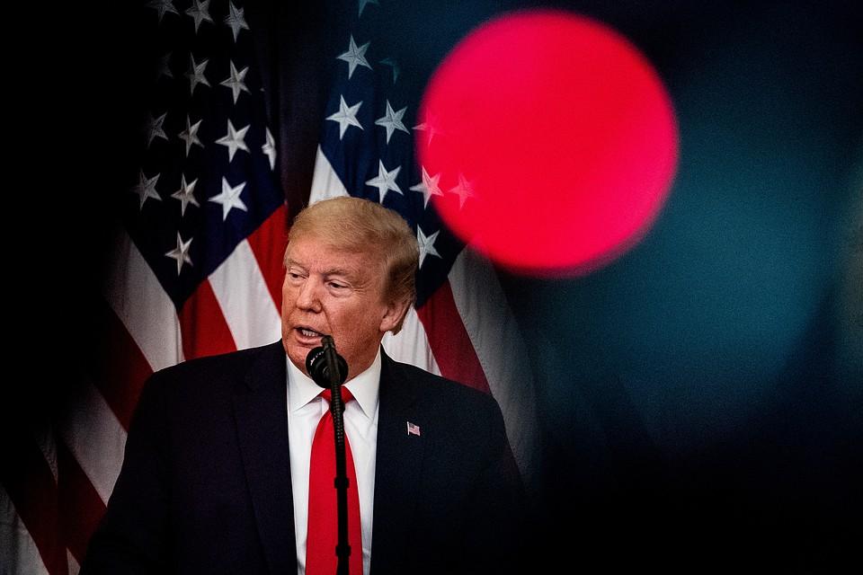 Президент США Дональд Трамп пообещал наказать Китай. Фото: GLOBAL LOOK PRESS