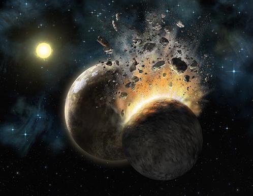 Фаэтон могла погубить космическая катастрофа