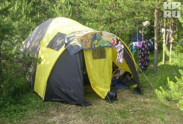 Целую неделю участники будут жить в палатках. Фото: Валерия ВЕРХОРУБОВА