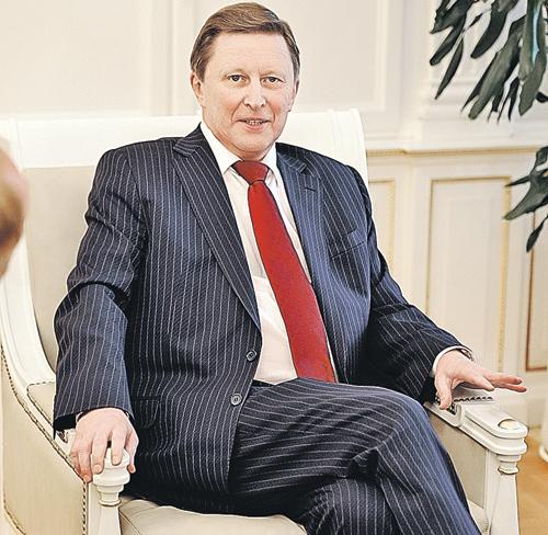Сергей Иванов. Фото: Анатолий ЖДАНОВ