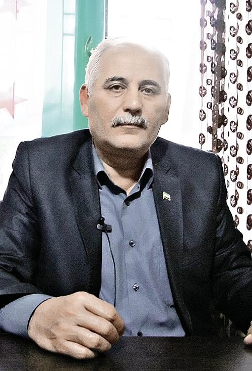 Генерал ССА Адиб Алеуи.