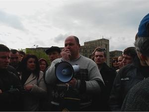Валерия Варшавского губернатором выбрали на немногочисленном митинге.
