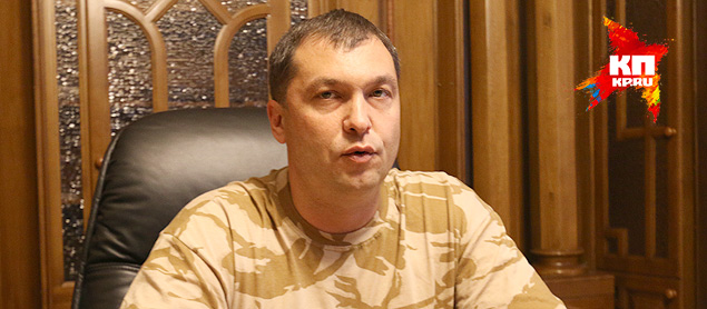 Глава ЛНР Болотов Фото: Александр КОЦ, Дмитрий СТЕШИН
