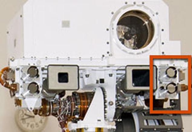 Левая навигационная камера, которая не глючит