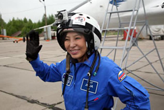 Она сказала: «Поехали! В стратосферу!» Фото: с сайта roskocmoc.ru