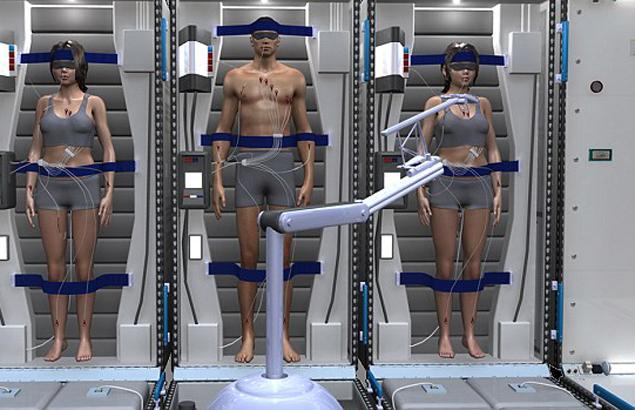 Астронавтов охладят с помощью специальных дыхательных масок