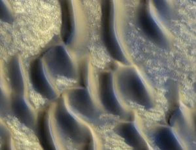 Оплавленные дюны