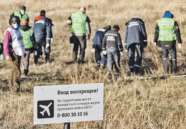 Приехав в Донбасс, следователи  из Голландии сразу же закрыли доступ к месту катастрофы. И обнародовать результаты расследования до сих пор не спешат. Фото: ТАСС