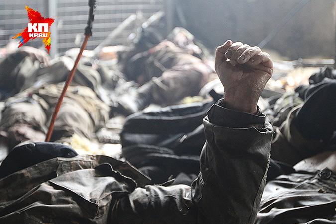 """Моторола об украинских киборгах: """"Их офицеры убежали, они все остались раненые. Кто-то умер в ожидании помощи."""" Фото: Александр КОЦ, Дмитрий СТЕШИН"""