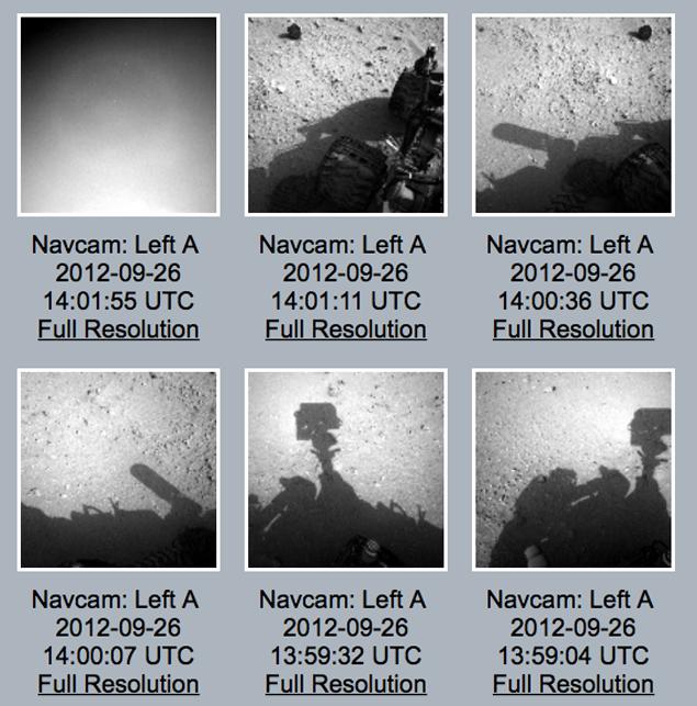 """Снимок с """"космонавтом"""" выложен на сайте НАСА, вместе с другими """"рабочими"""" фото."""