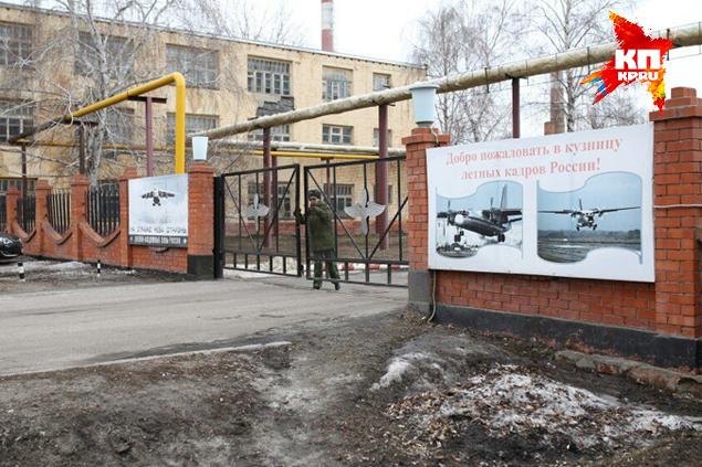 Воинская часть, где служил прапорщик Фото: Роман ЗЛОБИН
