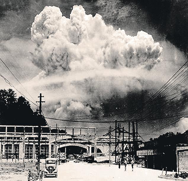 Документальное фото. Ядерный взрыв в Нагасаки 9 августа 1945 года. Фото: GLOBAL LOOK PRESS
