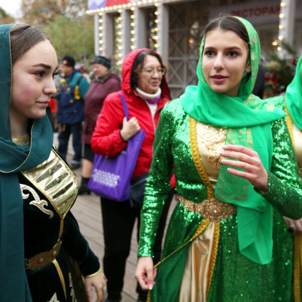 День народного единства в Парке Горького