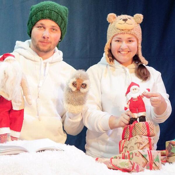 Новогоднее представление театра «Домик Фанни Белл»