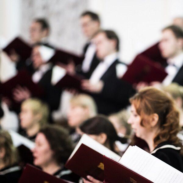Пасхальный концерт в соборе святых Петра и Павла