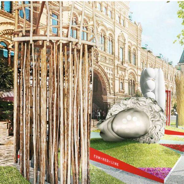 Выставка паблик-арта «Красный сад»