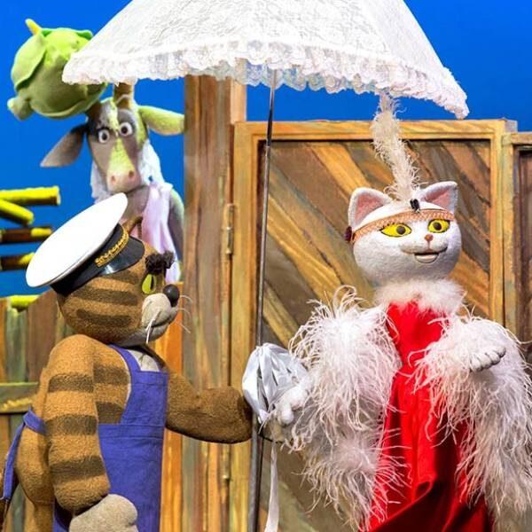Спектакль «Кошкин дом» в Театре кукол Образцова