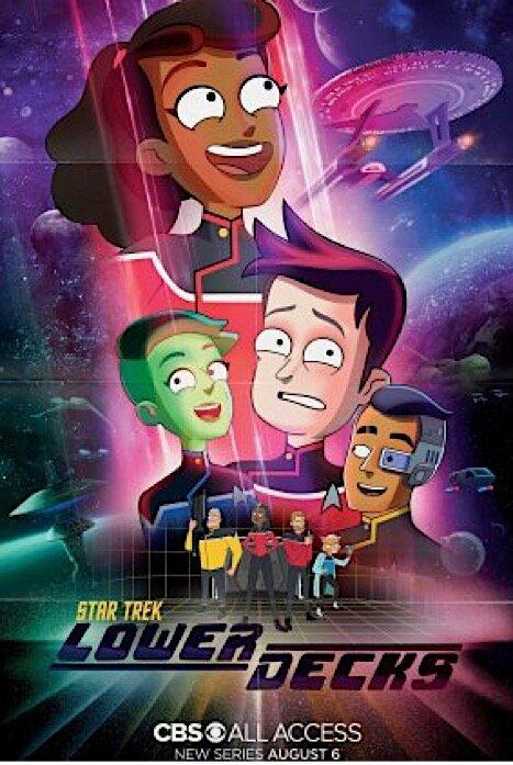 Звездный путь: Нижние палубы 1 сезон