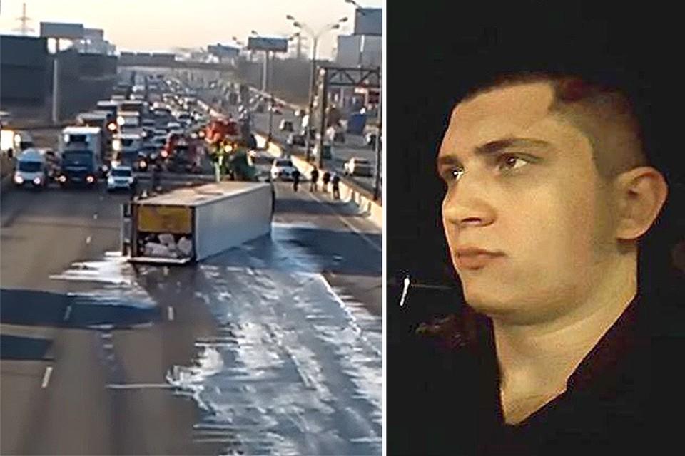 Игорь Ишаев угрожает тем, кто решит обвинить его в громкой аварии на МКАД.