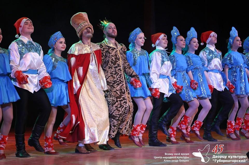 Народно- хореографический ансамбль ювентус юбилей