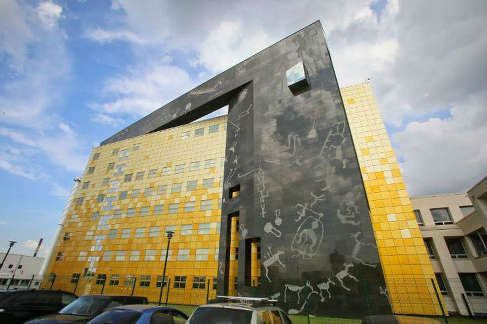 Новое расследование может касаться строительства зданий Фондохранилища Эрмитажа на севере Петербурга.