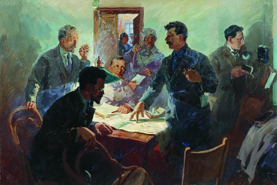 Штаб Октября, 1934 год, Сварог В.С.