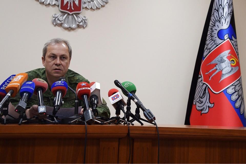 Об этом во время брифинга рассказал замкомандующего ВС ДНР Эдуард Басурин