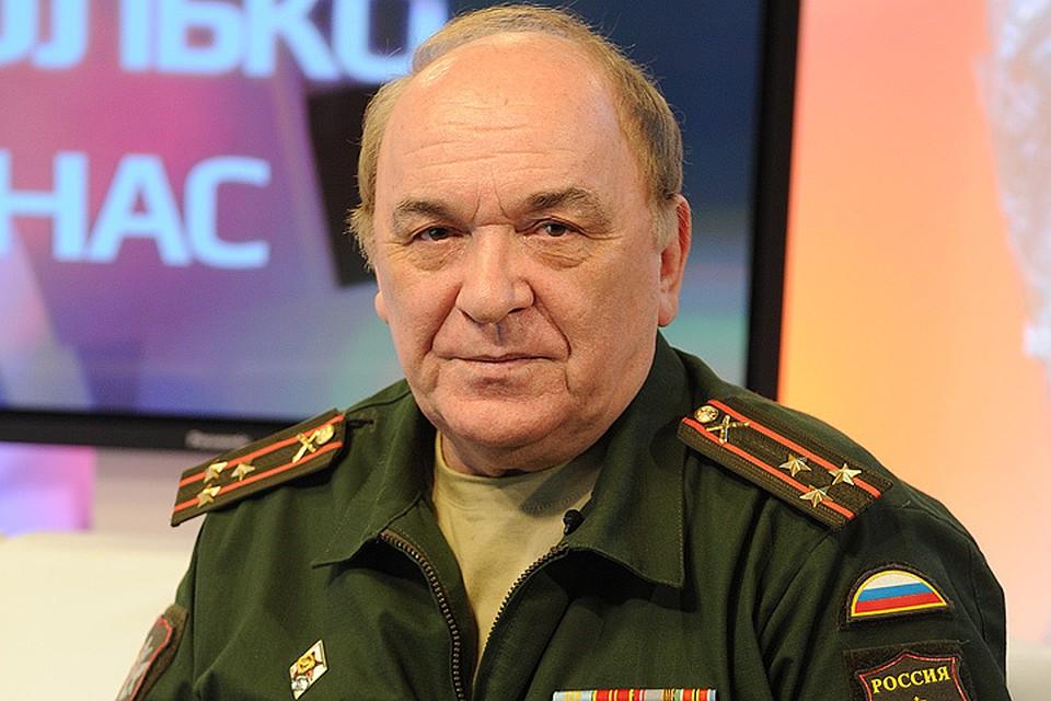 "Military commentator of ""Komsomolskaya Pravda"" Victor Baranets."
