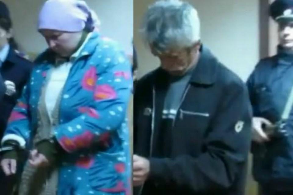 Супруги Павловы пытаются придумать себе подходящее оправдание. Фото: Первый канал.