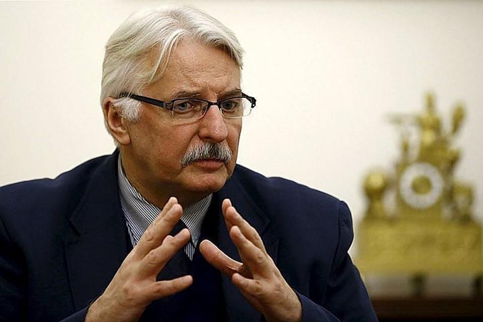 Глава МИД Польши Витольд Ващиковский