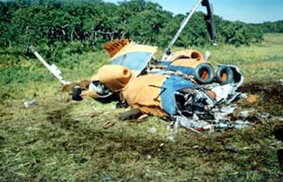 «Восьмерка» лежала на открытом месте. Но искали ее очень долго: пилоты давали диспетчерам ложные координаты маршрута...