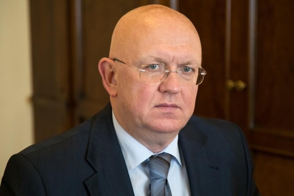Василий Небензя был назначен на должность постпреда нашей страны при ООН чуть больше месяца назад. Фото: пресс-служба постпредства РФ при ООН