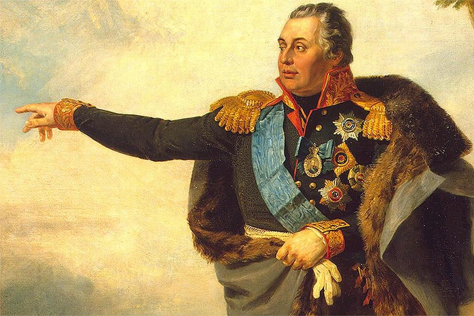 Портрет Михаила Илларионовича Кутузова. Художник Д. Доу, 1829 г