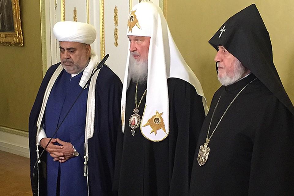 Патриарх Кирилл взялся помирить Армению и Азербайджан