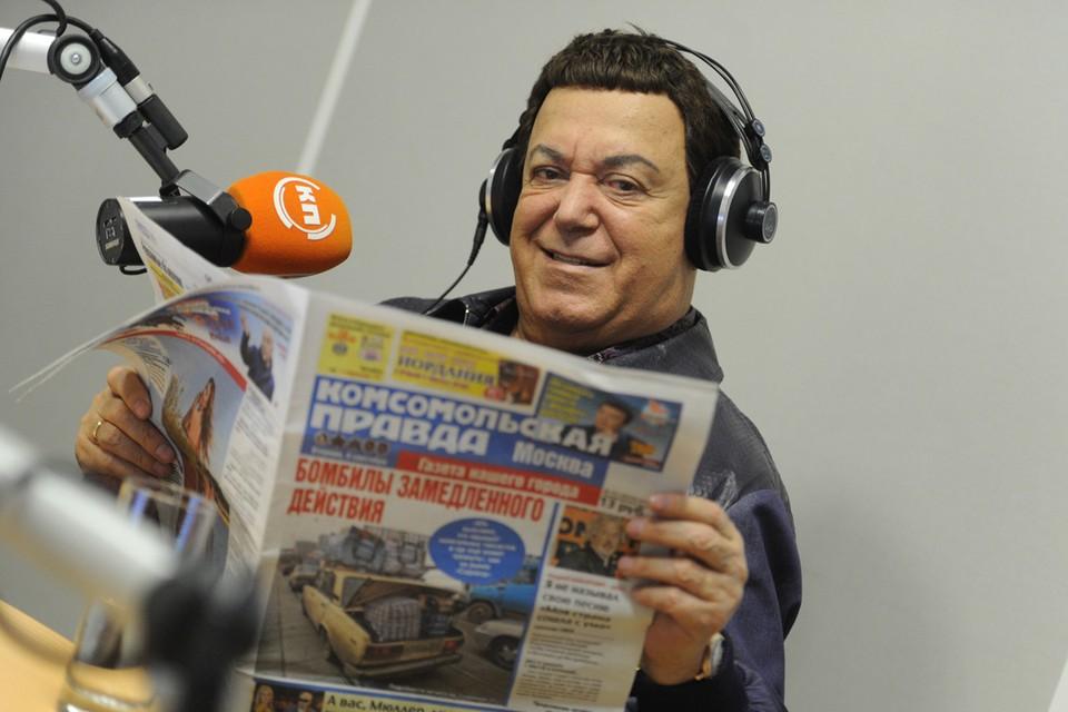 Иосиф Кобзон часто бывает и в эфире Радио «Комсомольская правда», и на страницах нашей газеты, и в материалах сайта kp.ru. А в эти дни мы посвятили любимому миллионами певцу сразу несколько интервью и репортажей. С юбилеем вас, дорогой Иосиф Давыдович!