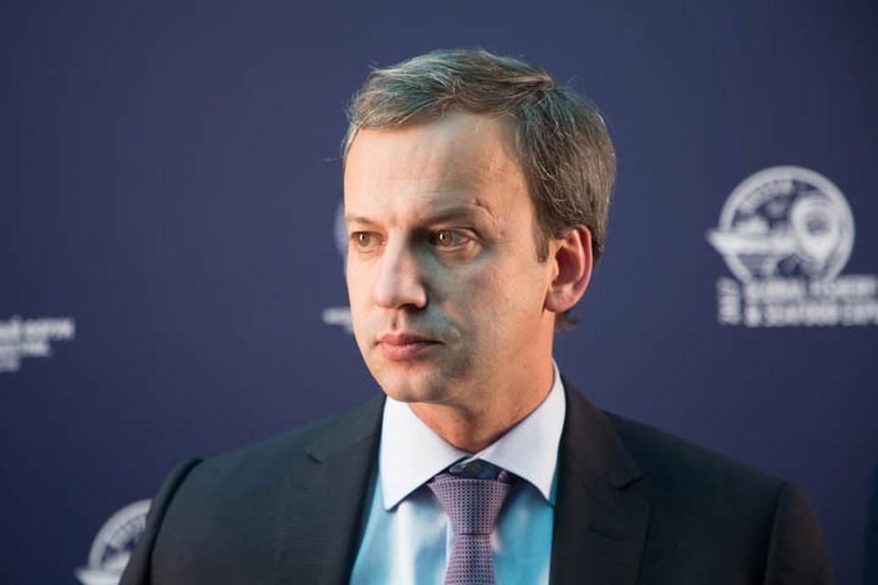 В работе форума принимает участие Аркадий Дворкович